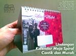 07 Undangan Kalender Meja Duduk Murah 085230788450